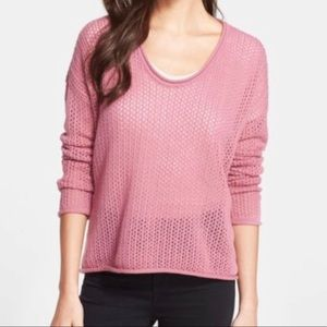 Joie Edisa Open Knit Sweater Size S